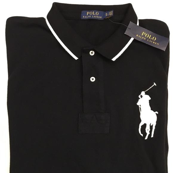 polo ralph lauren polo shirts polo black